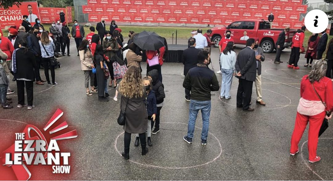 Trudeau campaign gets creative to hide small turnout at Calgary event3 (2)
