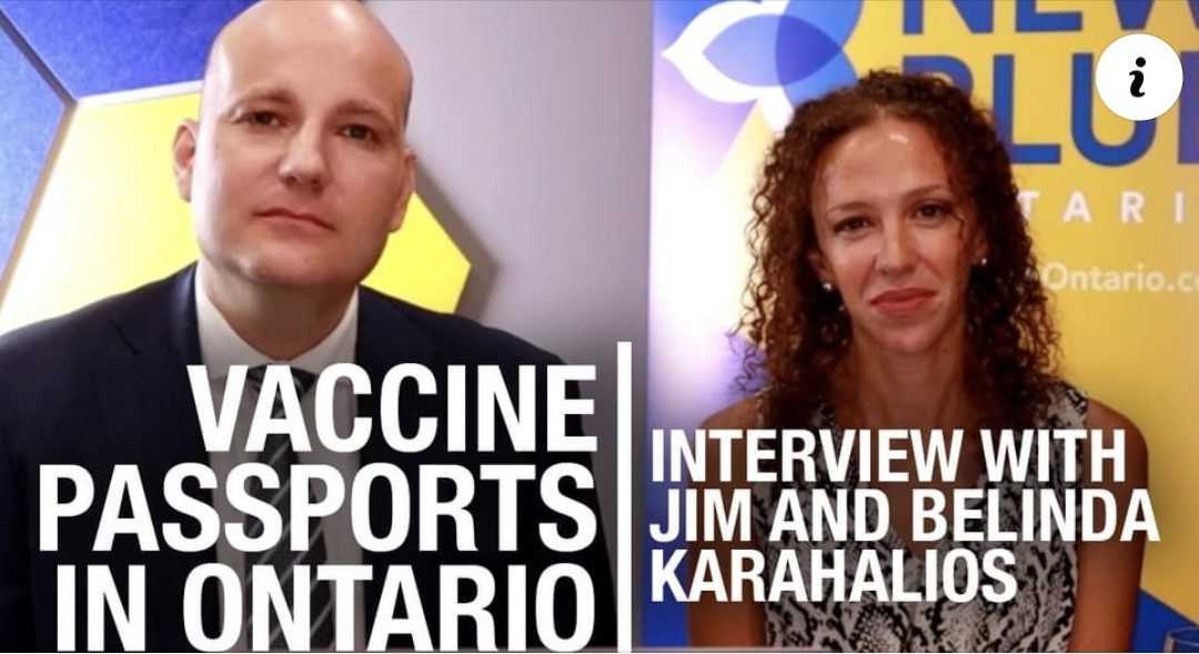 New Blue Party's Jim and Belinda Karahalios weigh in on Ford's vax pass flip-flop4.5 (2)